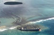 Így teszi tönkre a természetet a Mauritiusnál zátonyra futott hajóból tengerbe jutott olaj