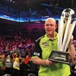 Simán nyerte van Gerwen a dartsvilágbajnokságot