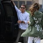 Üzenőfelület lett Melania Trump hírhedt kabátjából – mémek