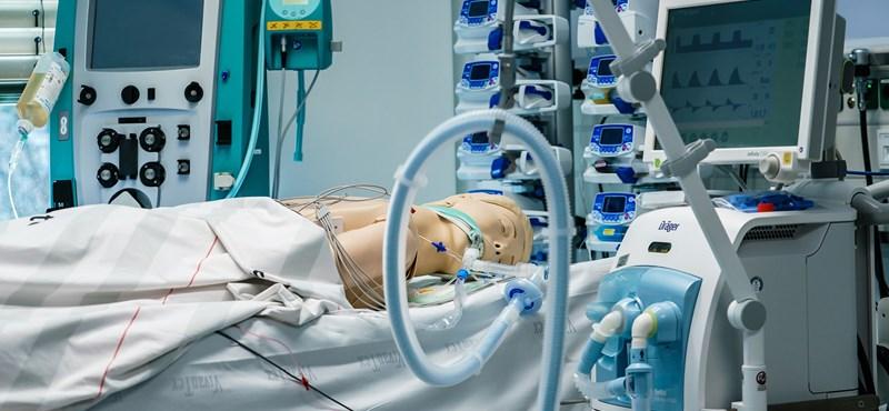 140 lélegeztetőgép és 5 millió maszk érkezik szerdán