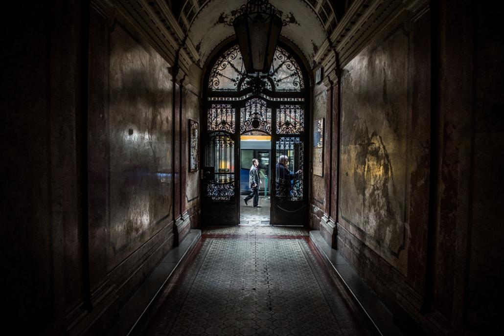 Titkos lépcsőházak Budapesten