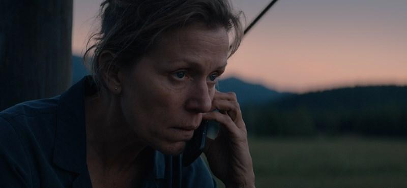 Frances McDormand elképesztőt nyújt – egy kis bizonyíték a Golde Globe-on taroló filmből
