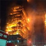 Pokoli torony Sao Paulóban: összedőlt egy 26 emeletes épület – fotók