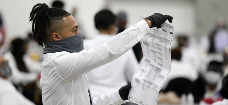 A bíró szerint sem voltak törvénytelenek a Trump által támadott pennsylvaniai szavazatok
