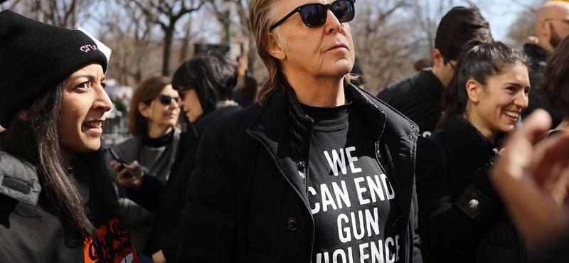Paul McCartney hadat üzent a húsos menüknek