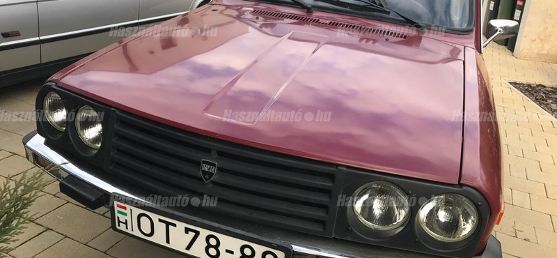Patika állapotú a legdrágább eladó itthoni régi Dacia, mutatjuk