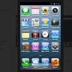 Így nézhet ki iPhone 5-nek egy androidos telefon