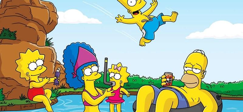 Bemutatták a Simpson család 500. epizódját