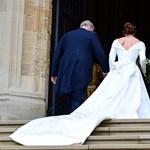 Eugénia hercegnő olyan menyasszonyi ruhát választott, amely megmutatta a sebeit