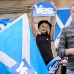 Több tízezren vonultak a függetlenségért Glasgow-ban