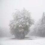 40 centi a hó a Kékesen, 30 centi Diósgyőrben