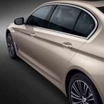 Helyet a lábaknak: itt a 13 centivel hosszabb új 5-ös BMW