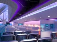 Képek: ha tényleg ilyen lesz az Airbus új repülője, sokan fel akarnak majd ülni rá