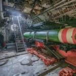 Fotók: Így néz ki belülről egy kiszuperált, 56 éves szovjet tengeralattjáró