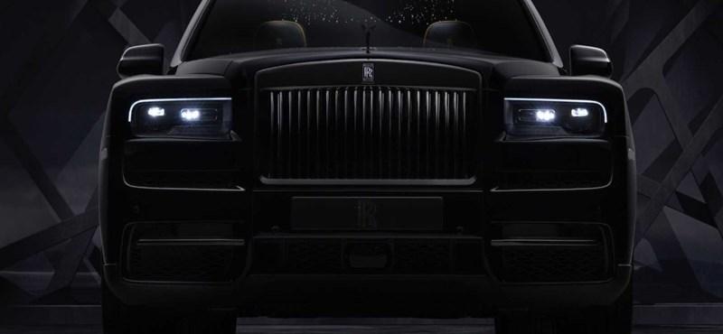 A Rolls-Royce erősebbé tette hatalmas divatterepjáróját