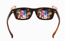 Itt a szemüveg, amit -5D és +2D között saját maga állítgathat