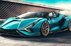 Leleplezték a hibrid Lamborghini hiperautó nyitott tetős változatát