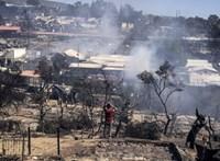 Súlyos börtönbüntetést kaptak a leszboszi menekülttábor felgyújtói
