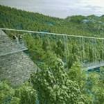 Látványos függőhidat építhetnek a Zemplénben