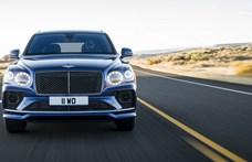 A Bentley felfrissítette a világ leggyorsabb divatterepjáróját, a biturbó W12-es Bentaygát