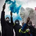 A párizsi tüntetők tíz százalékát vették őrizetbe a rendőrök