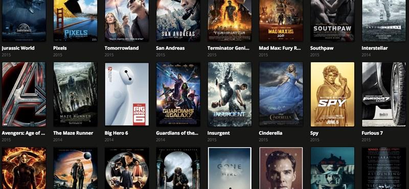Így nézheti a legújabb filmeket is letöltés nélkül, ingyen