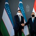 Orbán megköszönte az üzbégeknek, hogy tavaly 650 ezer védőmaszkot küldtek