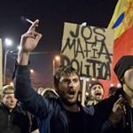 """A """"párhuzamos állam"""" visszaélései ellen tüntetnek Bukarestben a kormánypártok hívei"""
