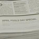 A BMW durrantotta a világ legütősebb tréfáját április 1-jén