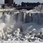 Eljegesedett a Niagara – fotók
