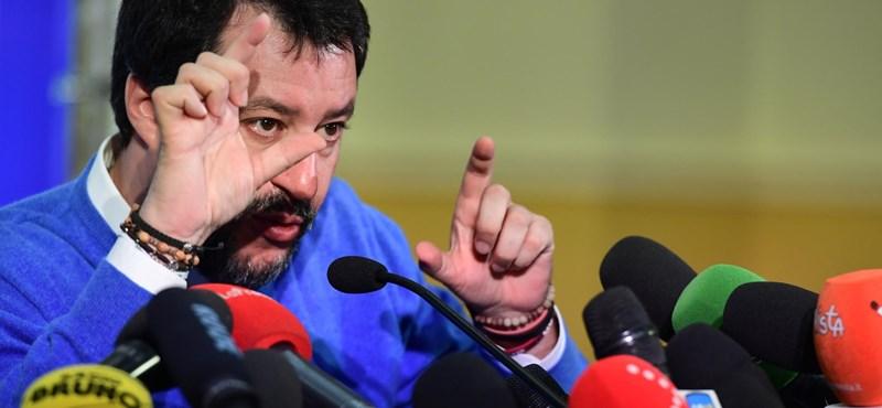 Megvonták Salvini mentelmi jogát a római felsőházban