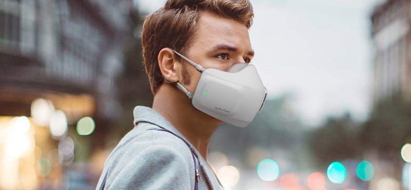 Piacra dobják az arcmaszkot, amelyben már 8 órán át ventilátorok segítik a be- és kilégzést