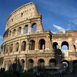 Rómában havazott, bezárták a Forum Romanumot és a Colosseumot
