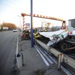 Durva baleset volt Ferihegy közelében
