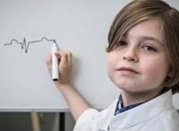 9 évesen készül diplomázni a belga zsenigyerek