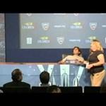 Videó: Nadal rosszul lett a sajtótájékoztatón
