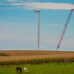 Nem lesz ilyenünk se soha: tervezőasztalon az 50 MW-os szélturbina