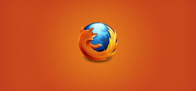 Firefoxot használ? Nyomjon rá most a frissítésre, hasznos újítások érkeztek bele