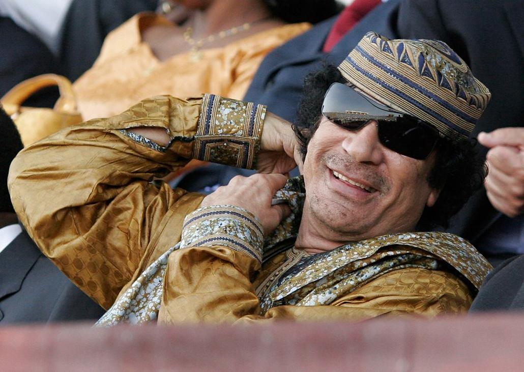Moammar Gadhafi,2007,Dakar,Reflektor