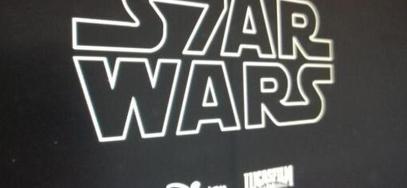 Állítólag ez lesz a Star Wars 7 logója – de mi azért reméljük, hogy nem