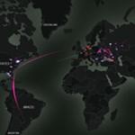 Mutatunk egy érdekes térképet: ennyi hackertámadás történik éppen ebben a pillanatban