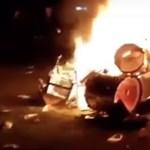 Törölték a Slipknot koncertjét, a dühös rajongók gyújtogatni kezdtek a színpadon