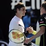 Szépen helytállt Fucsovics, de kikapott Federertől