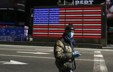 Egy nap alatt 630-an haltak meg New York államban a koronavírus-járványban