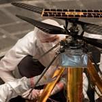 Videó: helikoptert küld a Marsra a NASA, és már tesztelték is repülés közben