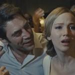Vagy idegesít, vagy elkápráztat Jennifer Lawrence kegyetlen pokoljárása
