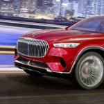 Öt és fél méter tömény luxus, itt a Mercedes-Maybach über SUV