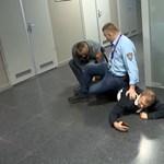 Ellenzékiek a köztévé épületében: vallomást tett az MTVA biztonsági főnöke