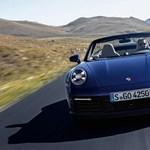 Ledobta a tetejét: itt a teljesen új Porsche 911 Cabriolet