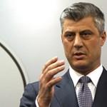 Háborús bűnök miatt emeltek vádat a koszovói elnök ellen